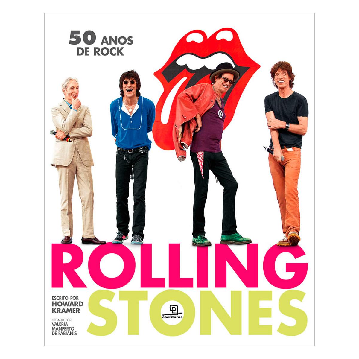 Livro Rolling Stones 50 Anos de Rock