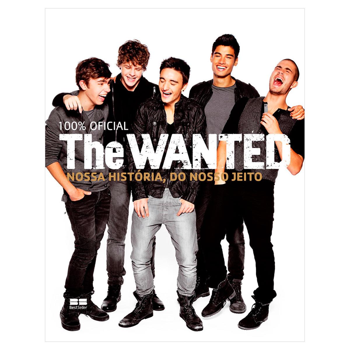 Livro The Wanted Nossa Hist�ria do Nosso Jeito