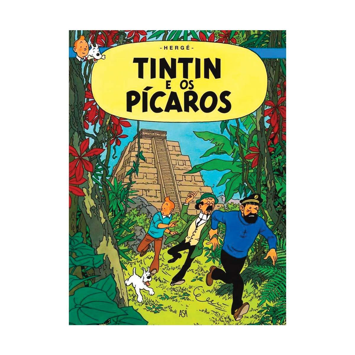 Livro Tintin e os Pícaros