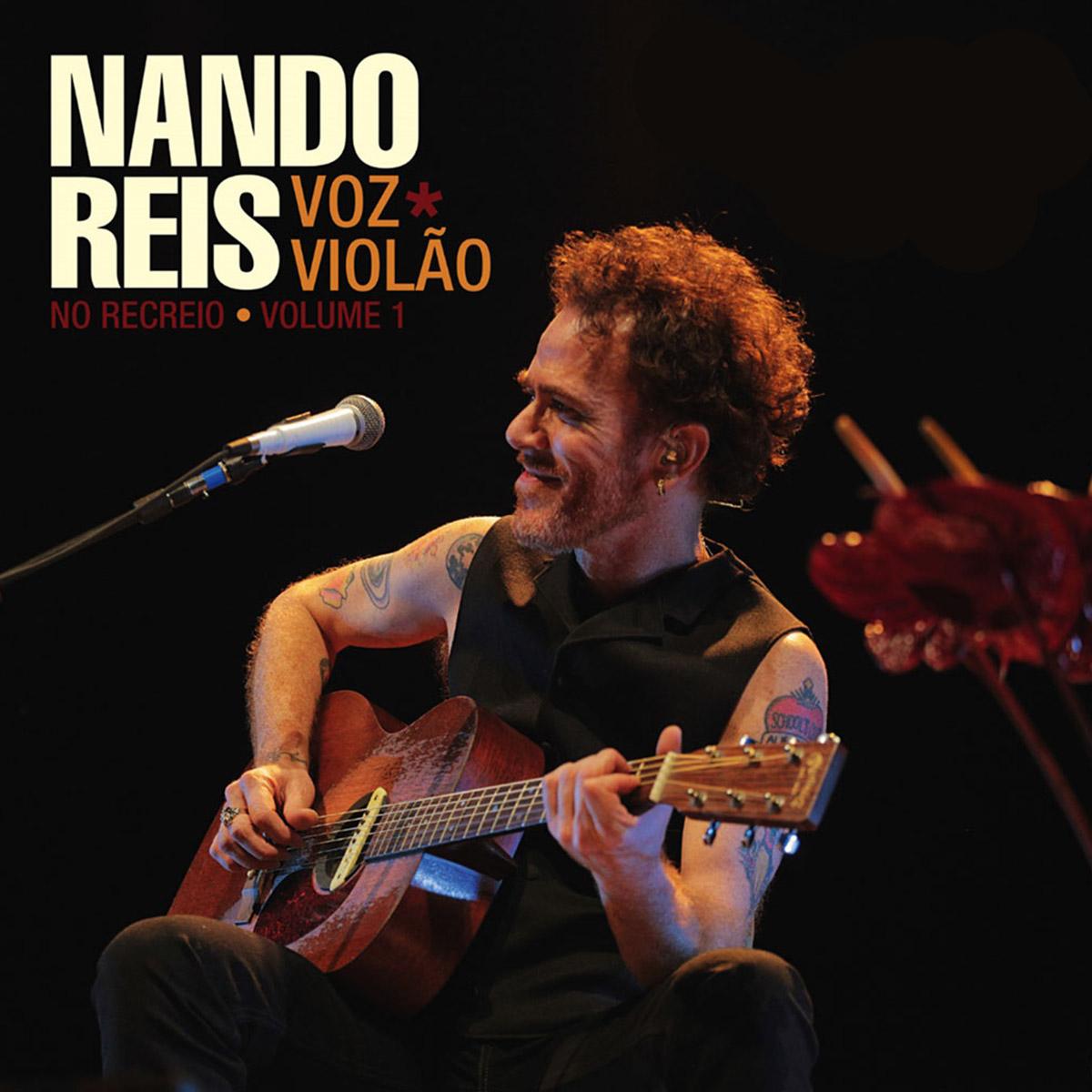 LP Duplo Nando Reis No Recreio Voz e Viol�o - Volume 1