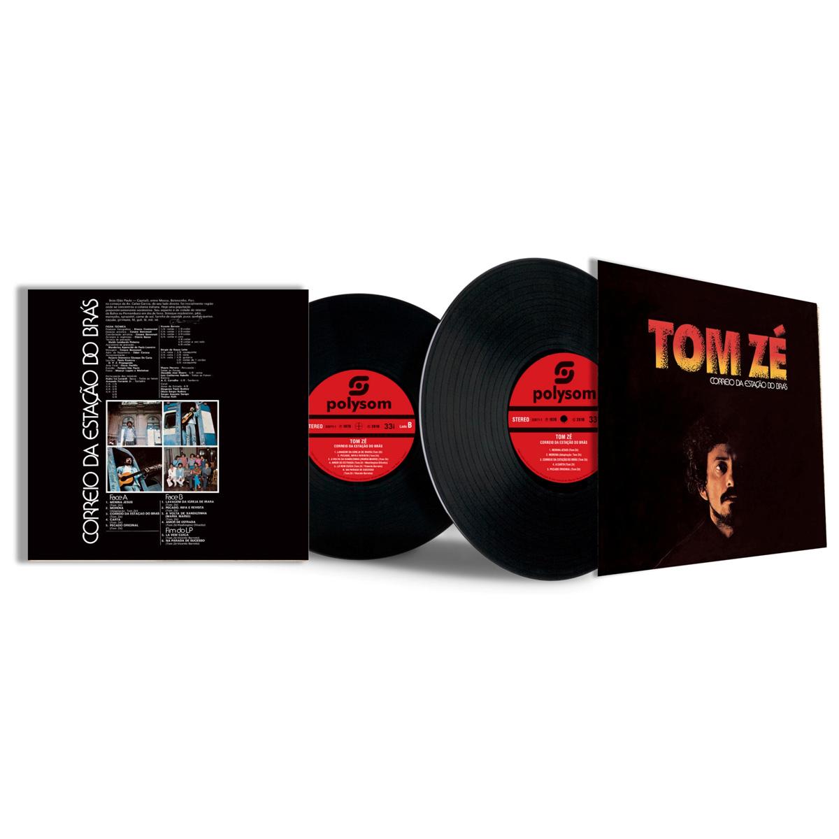 LP Tom Zé Correio Da Estação Do Brás