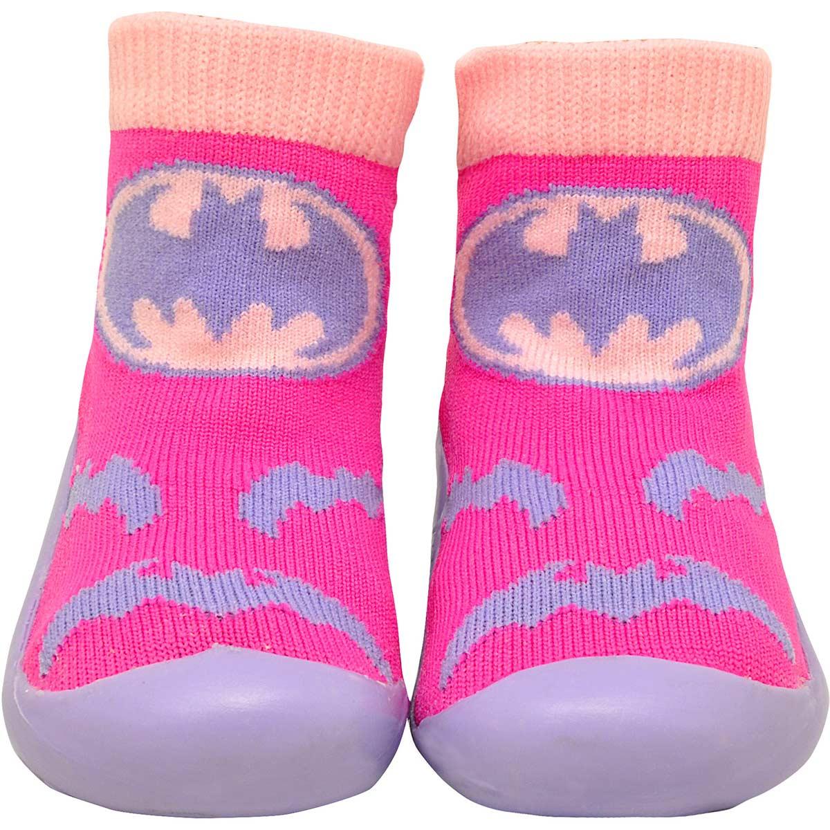 Meia Sapatilha Infantil Batgirl Logo