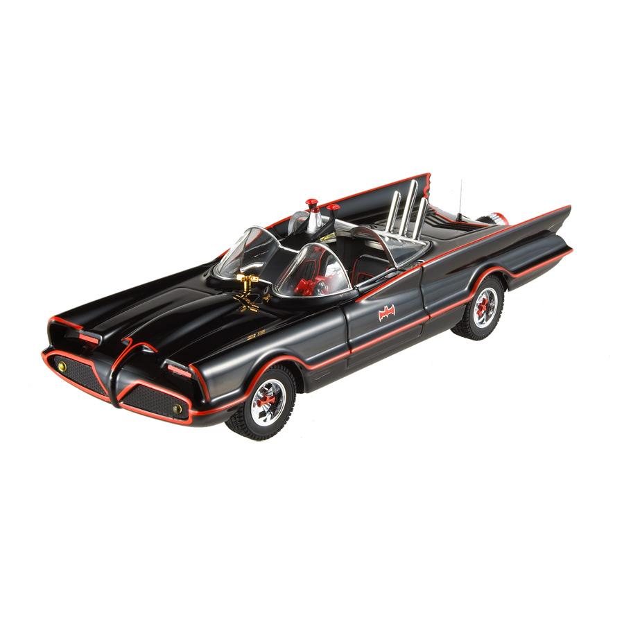 Miniatura Batmóvel 1966 Hot Wheels 1:24
