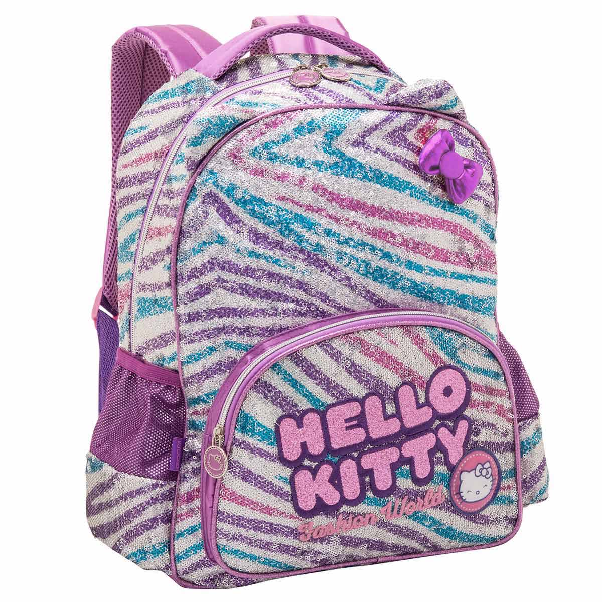 Mochila Hello Kitty Fashion Girl