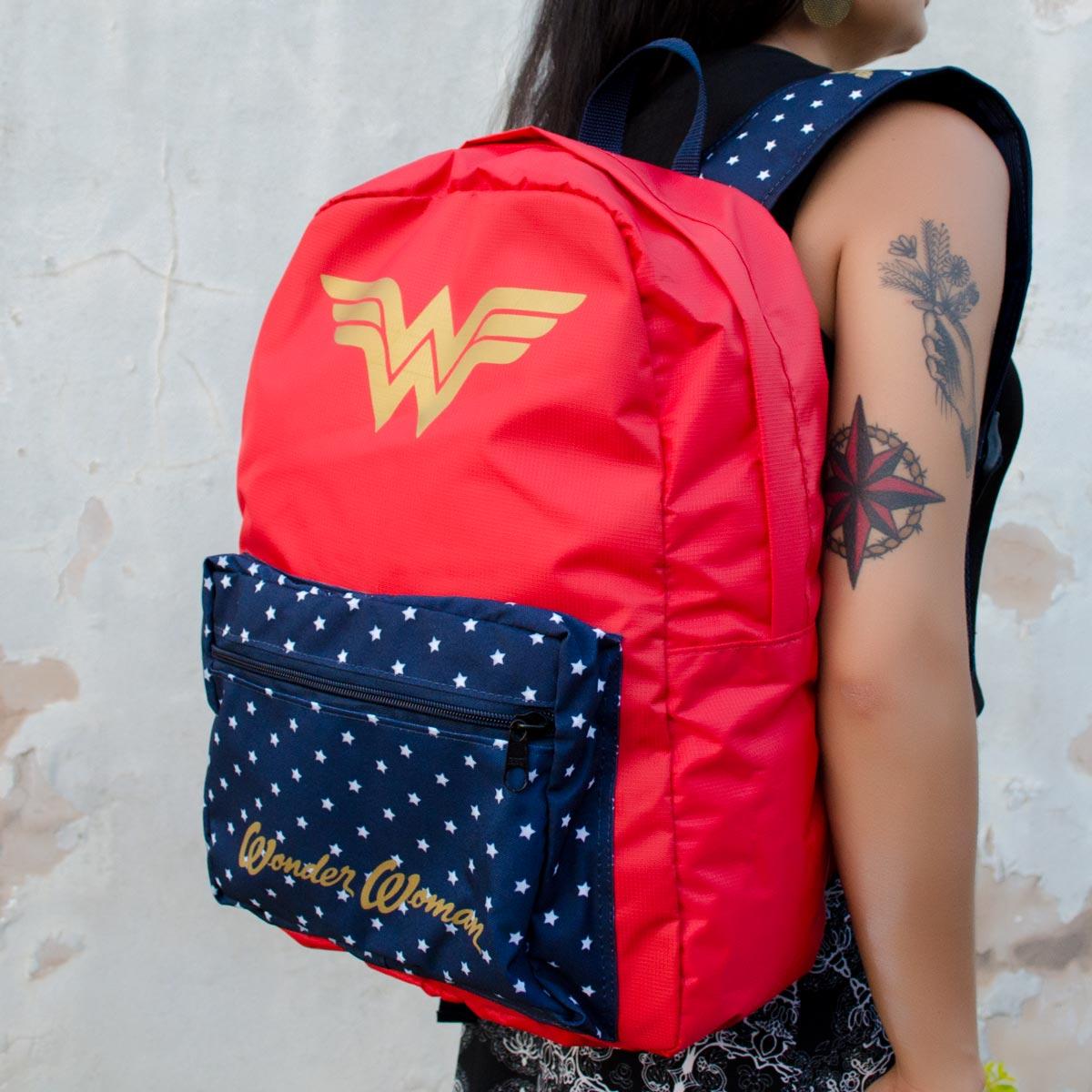 2º Lote Mochila Wonder Woman Clássica