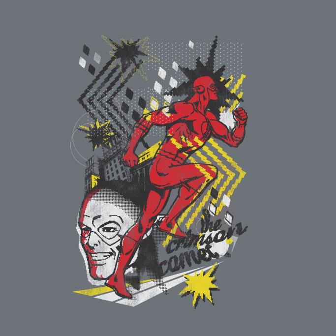 Moletinho The Flash Crimson Comet