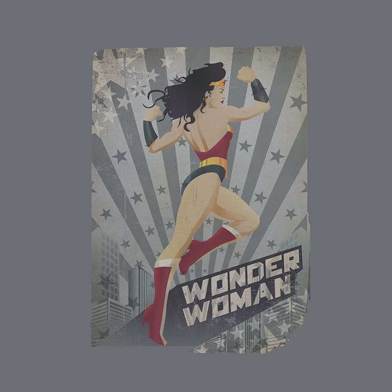 Moletinho Wonder Woman Power