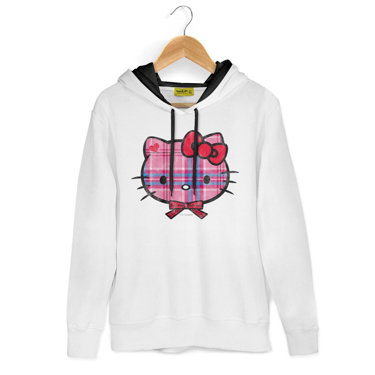 Moletom Hello Kitty Xadrez