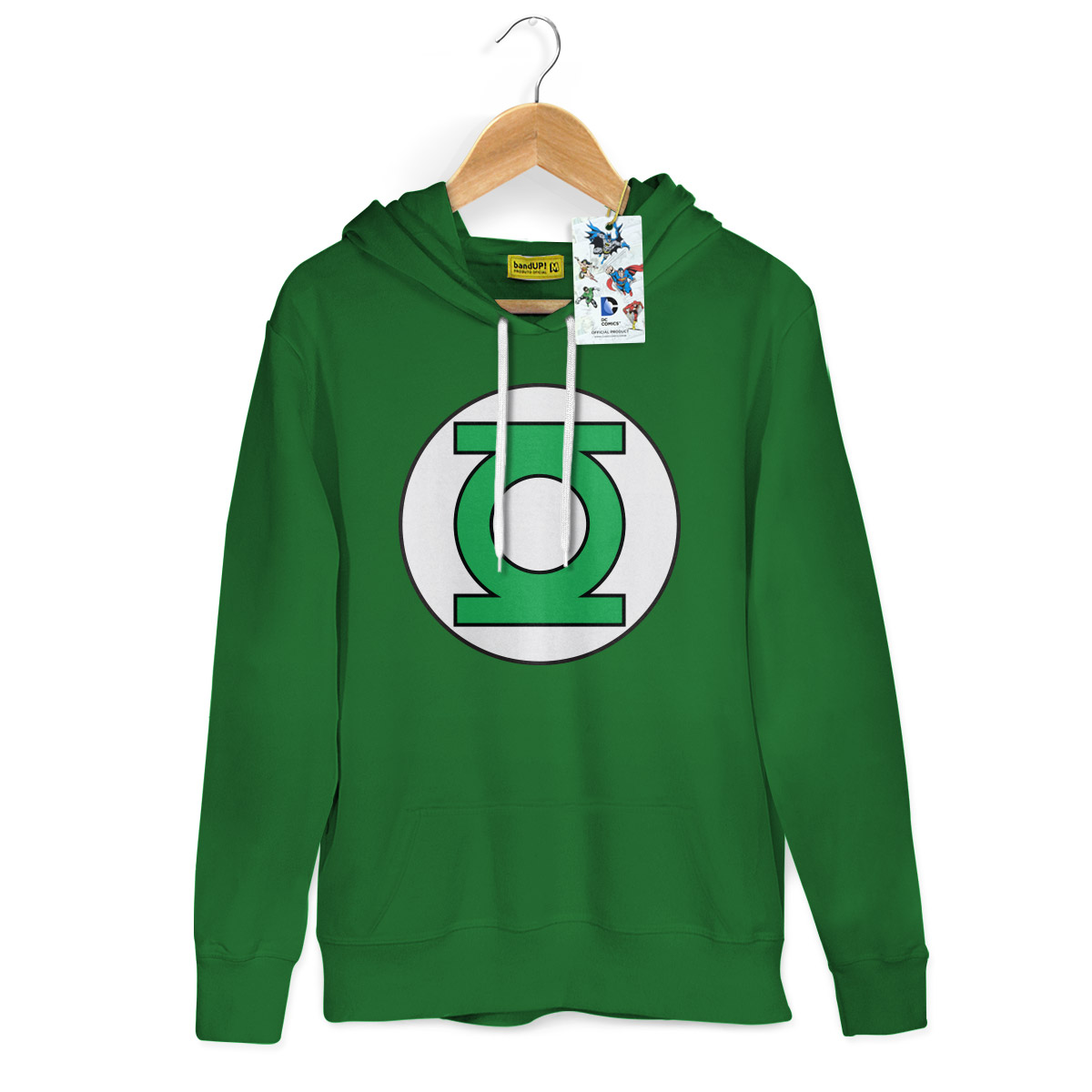 Moletom Lanterna Verde Logo