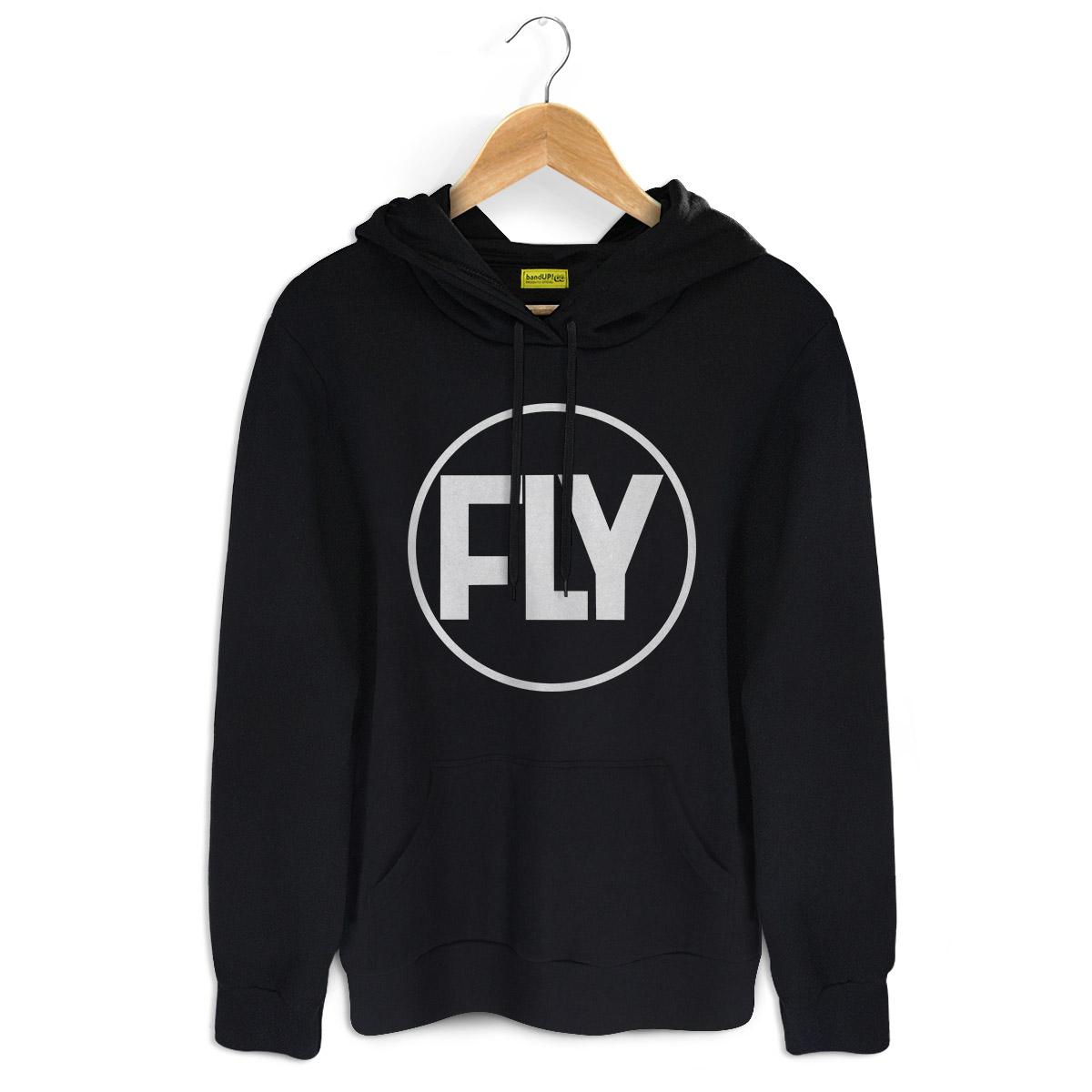 Moletom Preto Banda Fly Logo