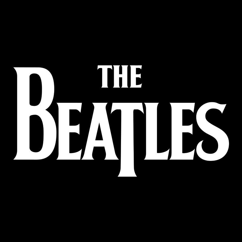 Moletom Preto The Beatles Classic Logo