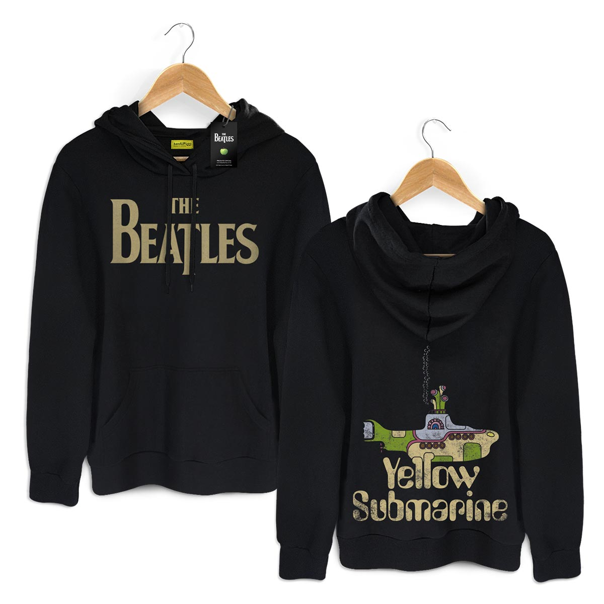 Moletom Preto The Beatles Yellow Submarine