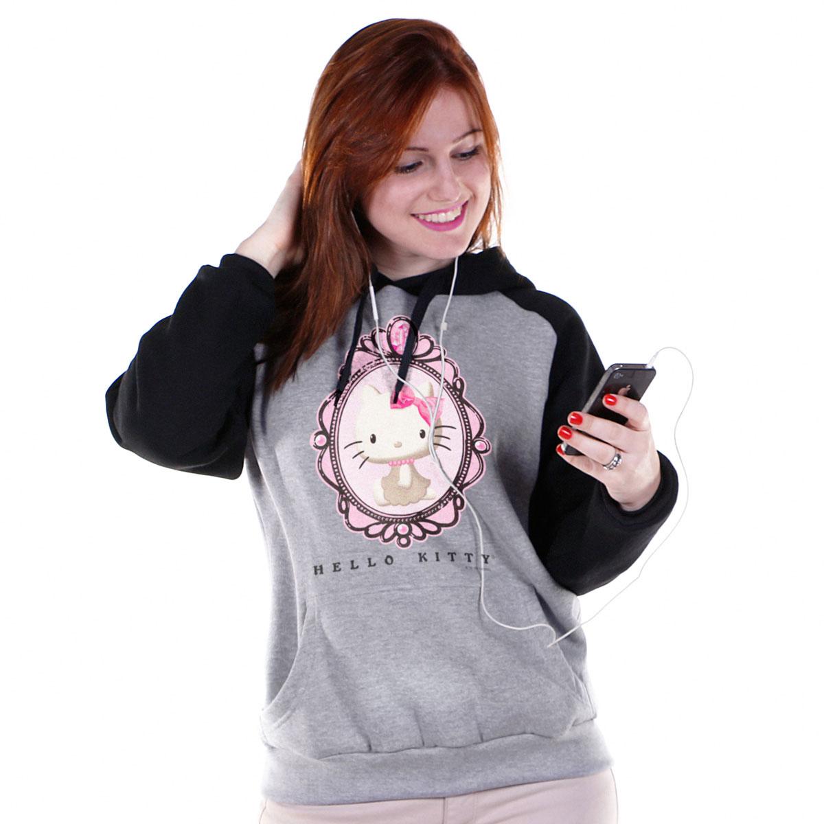 Moletom Raglan Hello Kitty Vintage