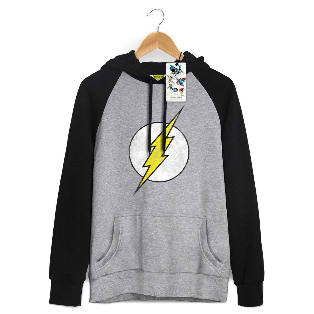 Moletom Raglan The Flash Logo