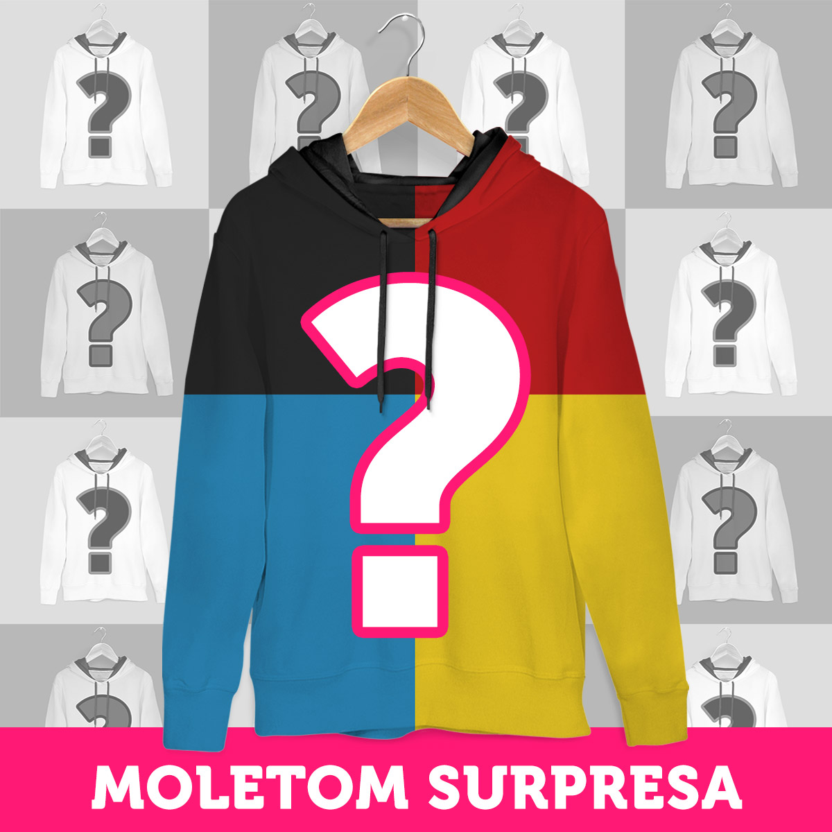 Moletom SURPRESA!