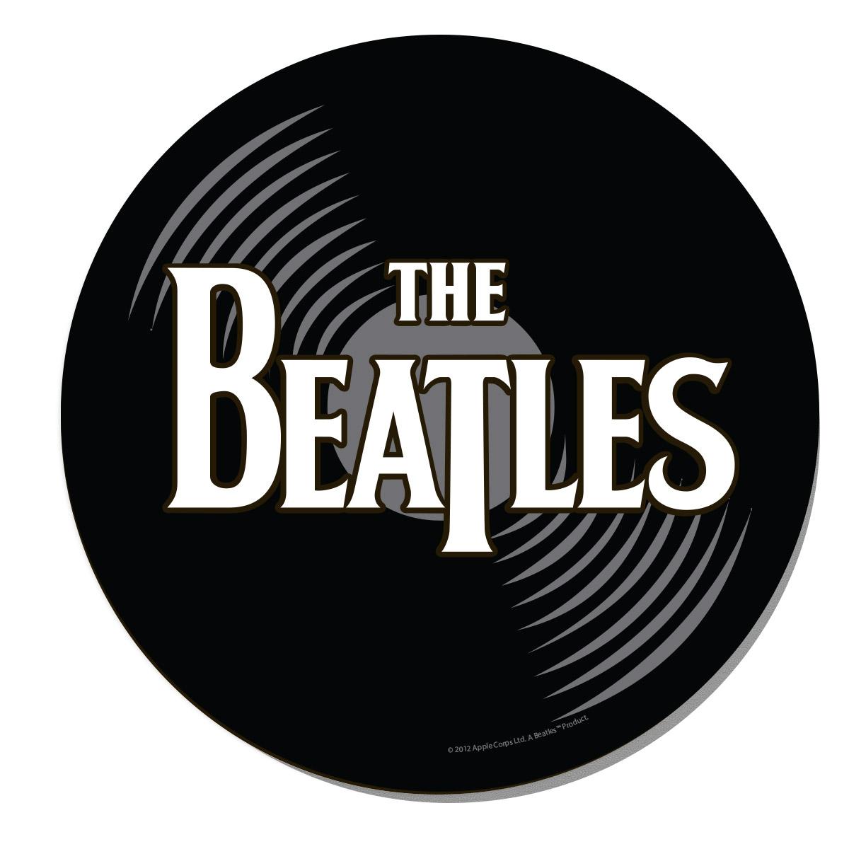 Mousepad Redondo The Beatles Vinyl