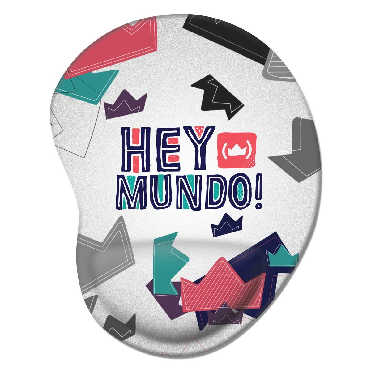 Mousepad Thiaguinho Hey Mundo! Logo