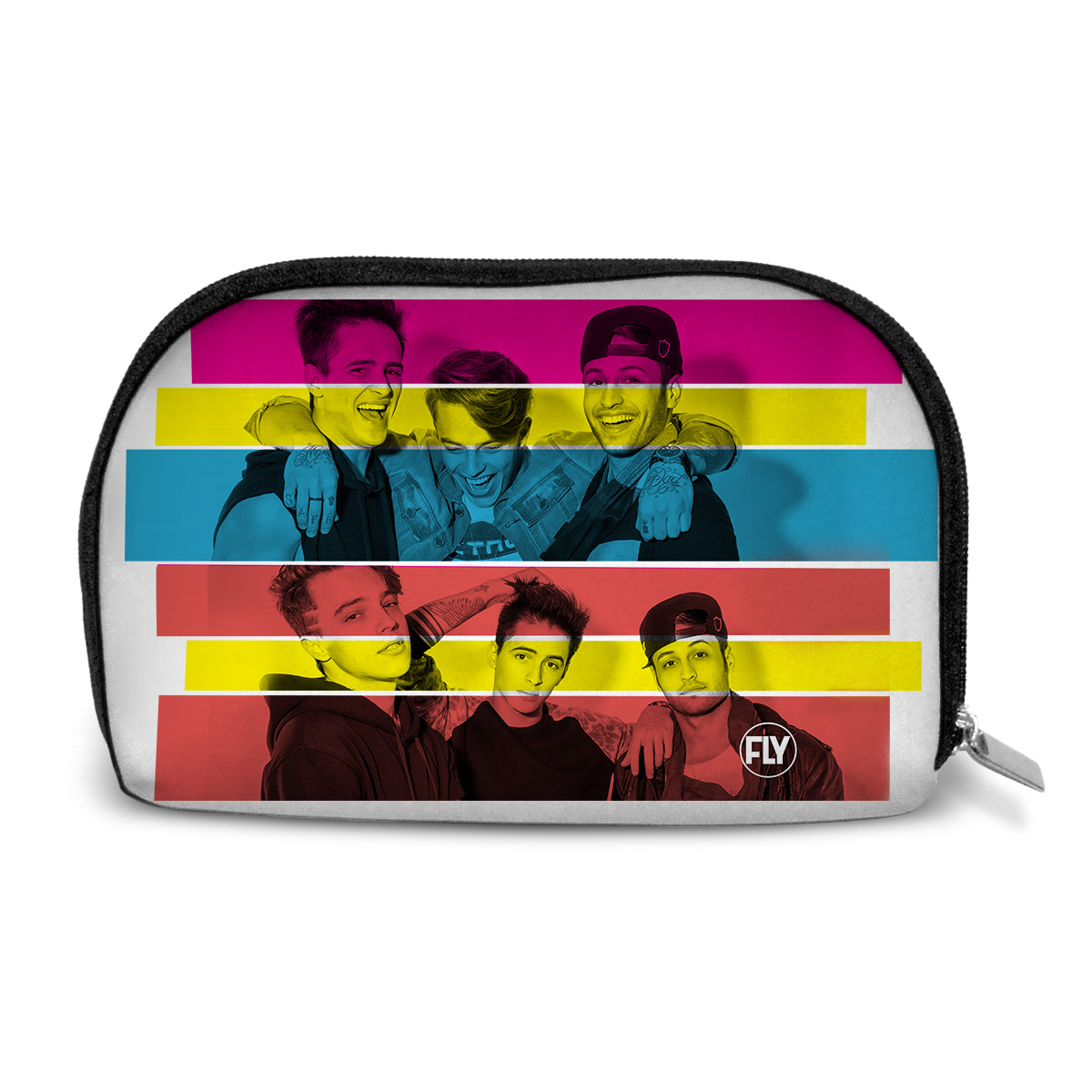 Necessaire Banda Fly 2 Anos Colors