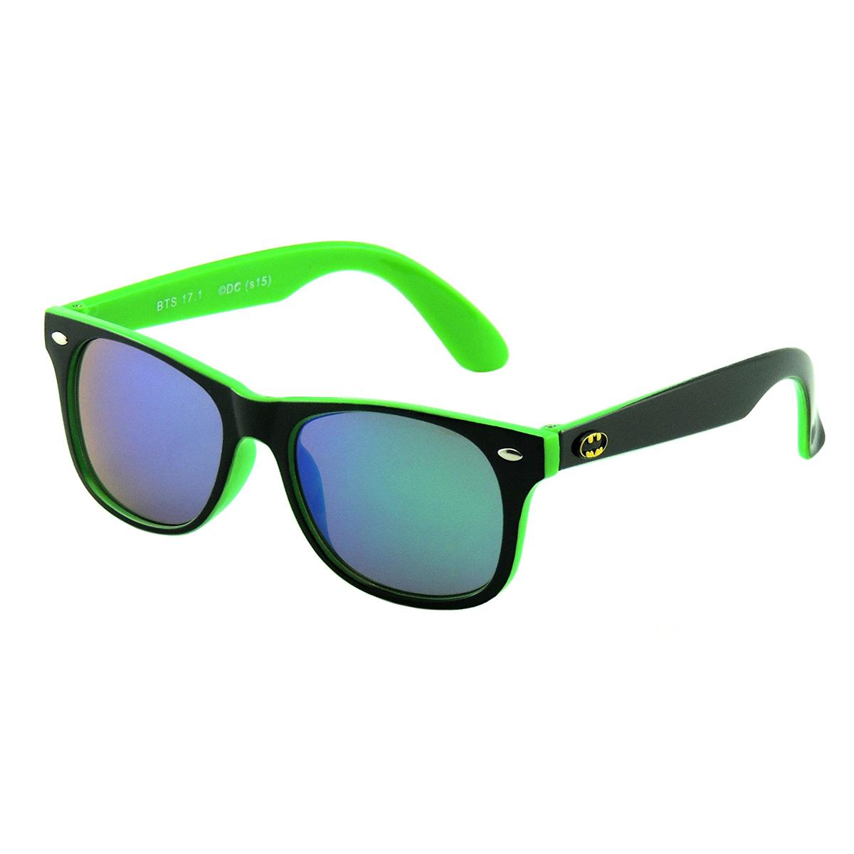 Óculos de Sol Batman Infantil Preto com Verde