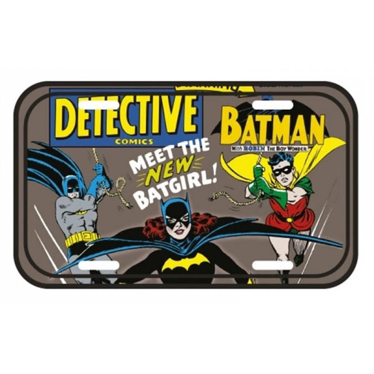 Placa de parede Meet The New Batgirl!