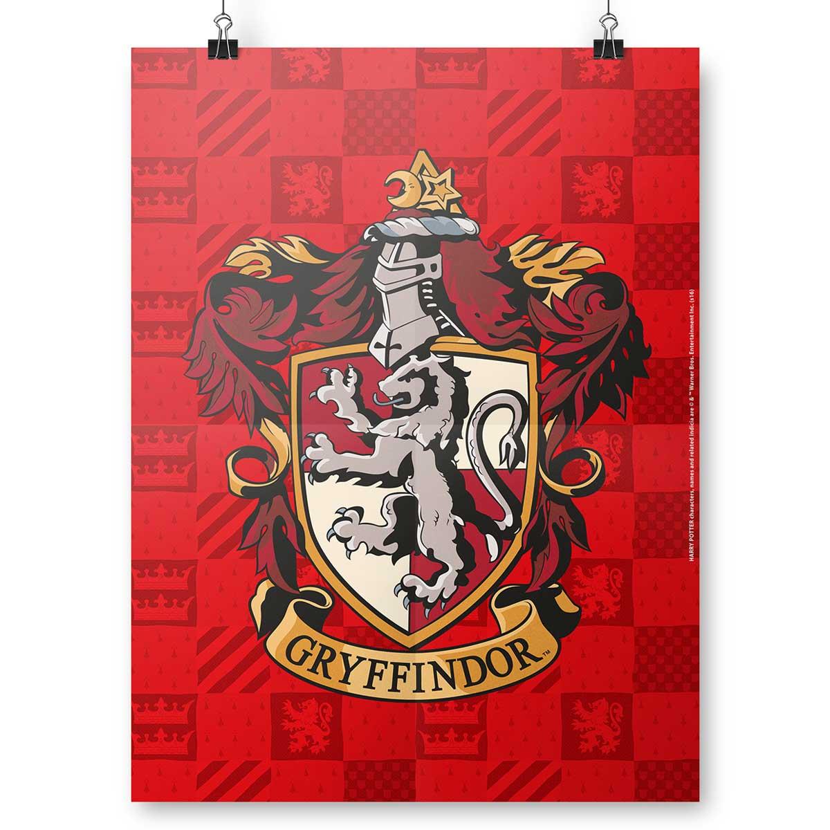 Pôster Harry Potter Gryffindor