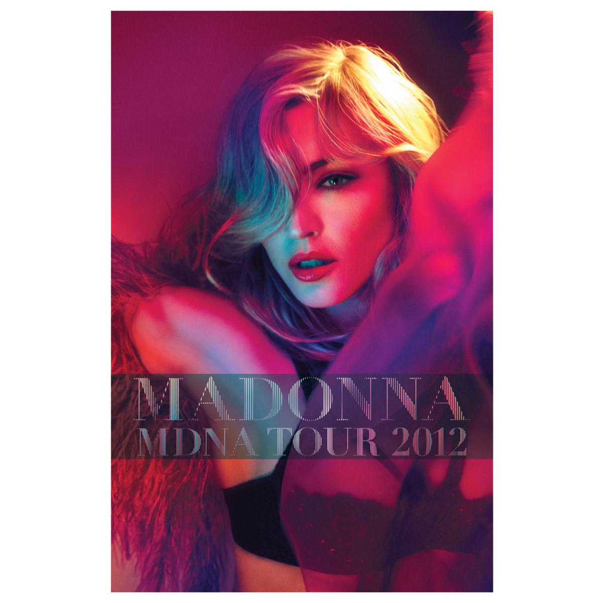P�ster Madonna Tour 2