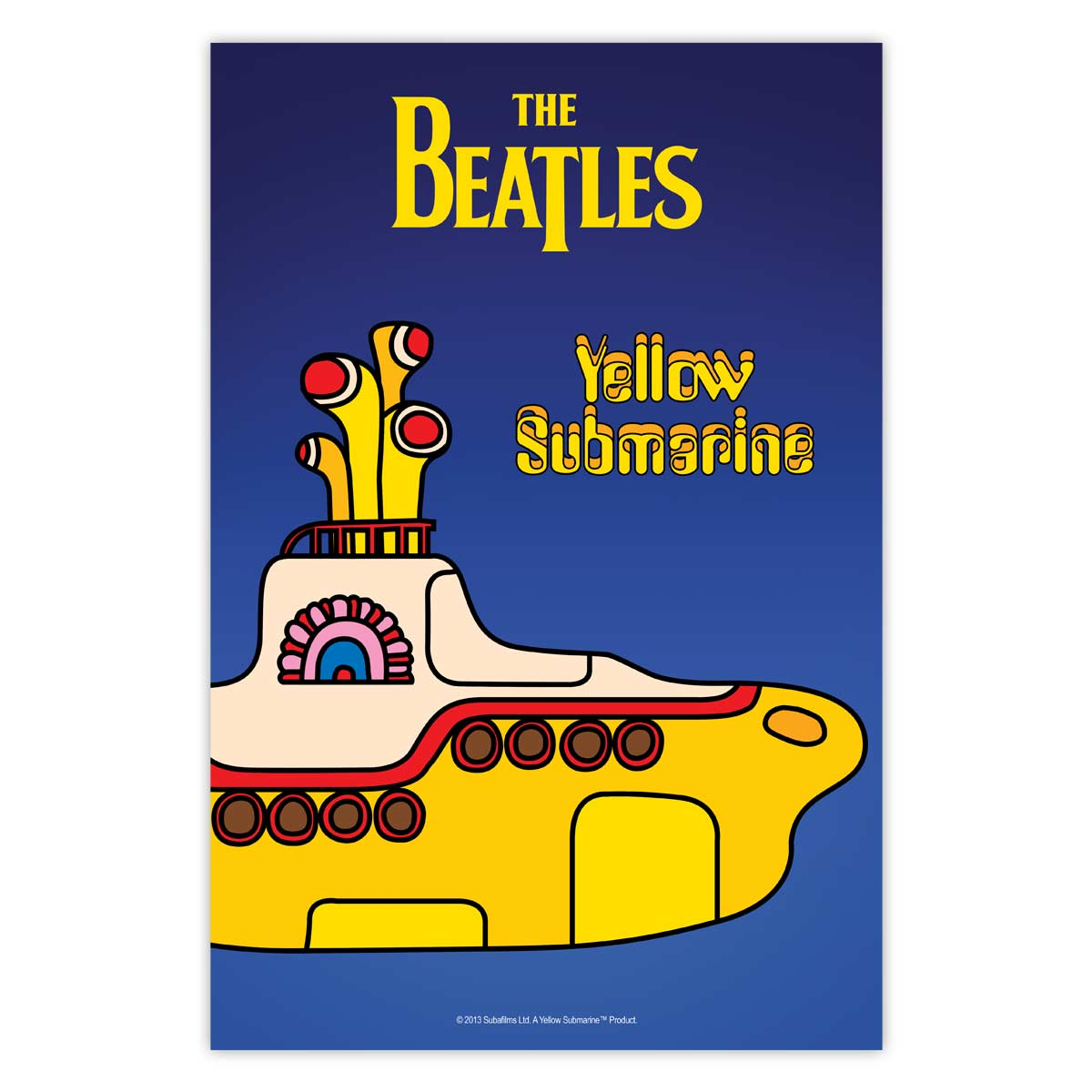 Poster The Beatles Yellow Submarine