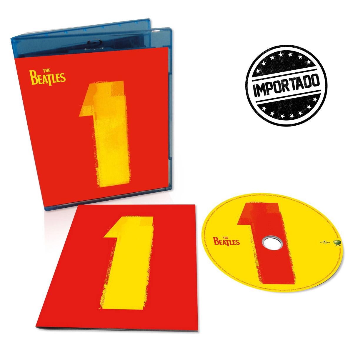 Produto IMPORTADO Blu-ray The Beatles 1