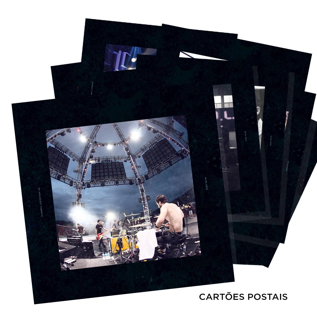 CD Duplo Deluxe + DVD Fresno 15 Anos ao Vivo AUTOGRAFADOS + P�ster GR�TIS