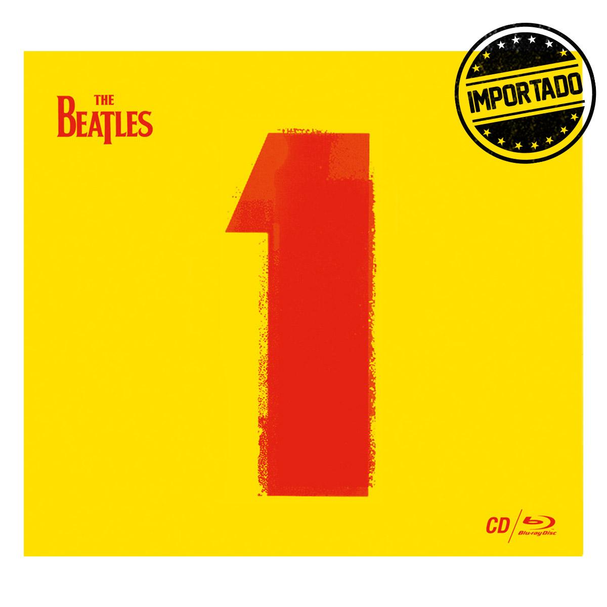 Produto IMPORTADO CD+DVD The Beatles 1 (Ltd. Ed. Gatefold CD digipack)