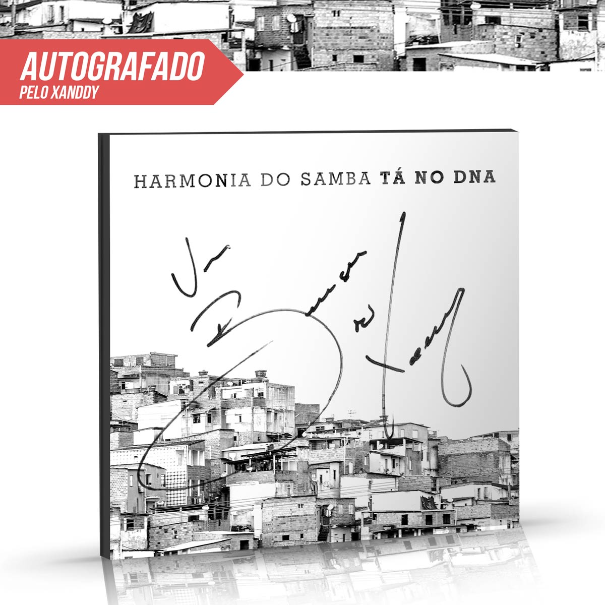CD Harmonia do Samba T� no DNA AUTOGRAFADO pelo Xanddy