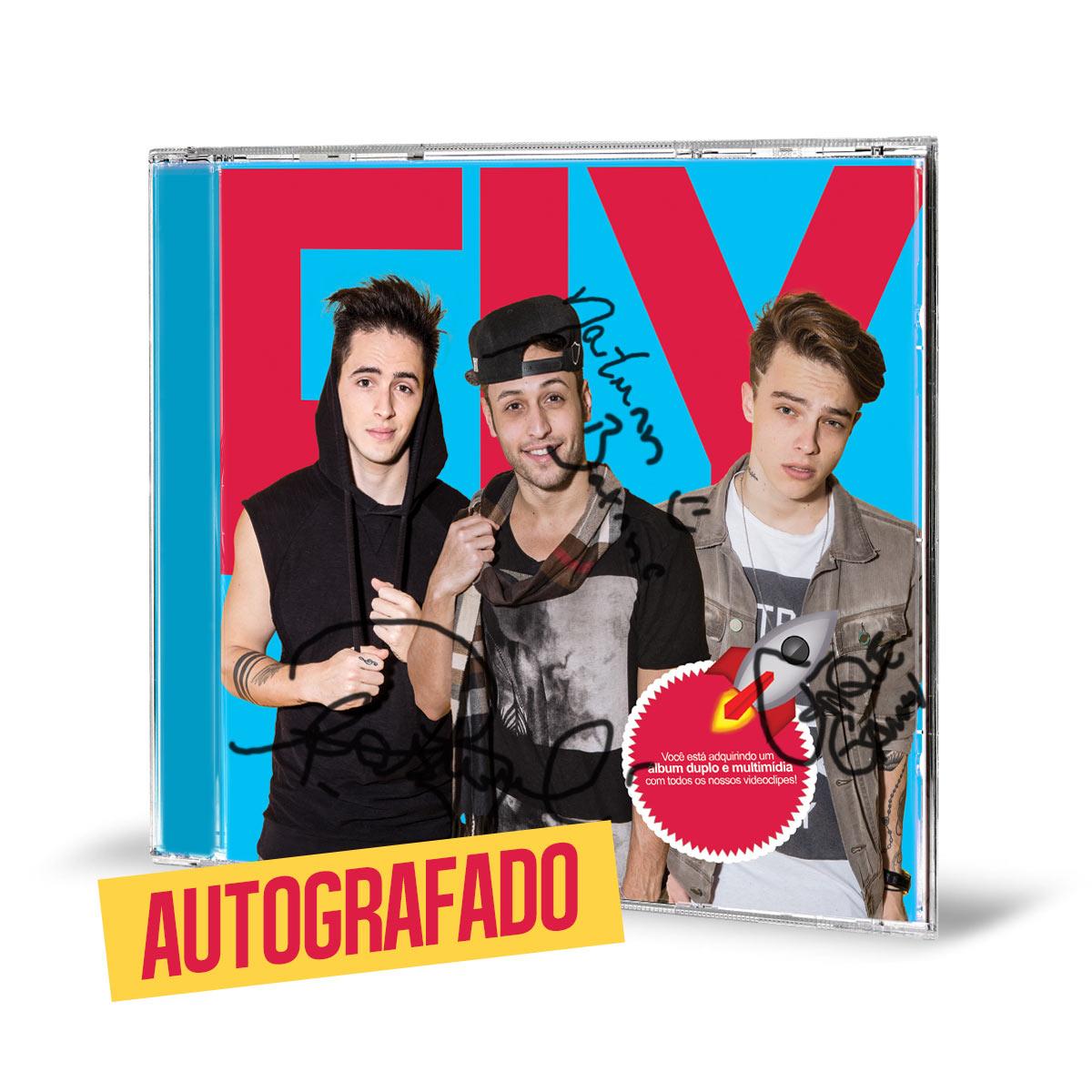 Combo Banda Fly CD Cabelos de Algodão AUTOGRAFADO + Camiseta Feminina - 2º LOTE