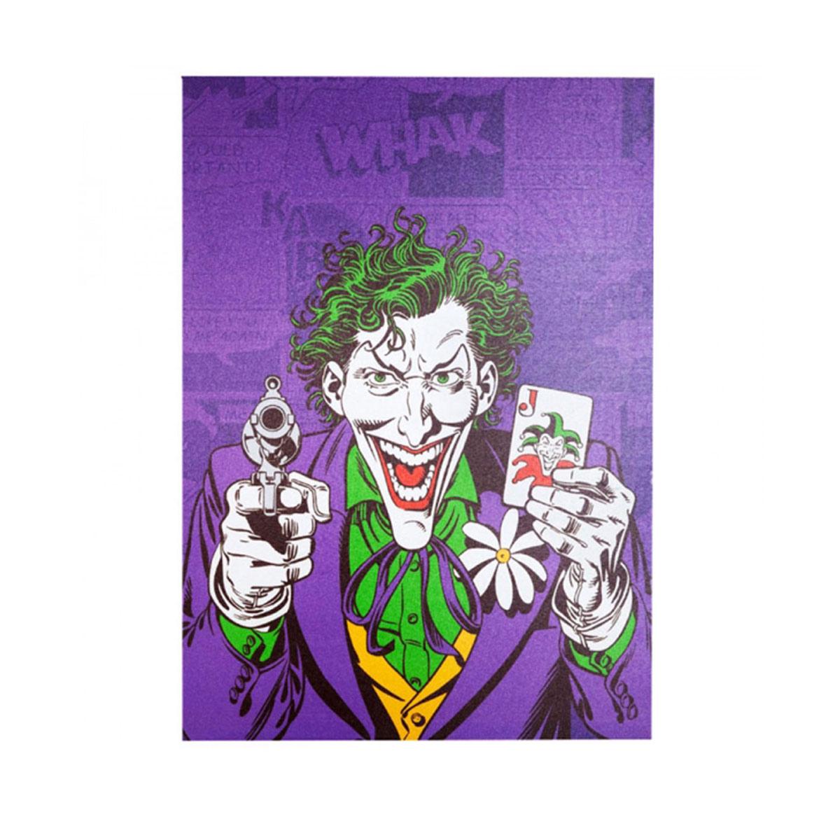 Quadro Tela The Joker Gun