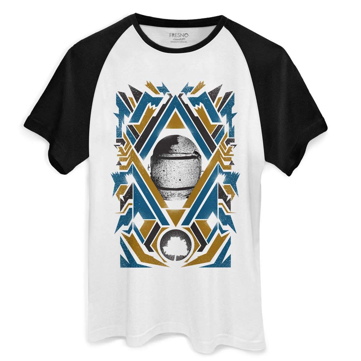 Camiseta Raglan Masculina Fresno Astronaut