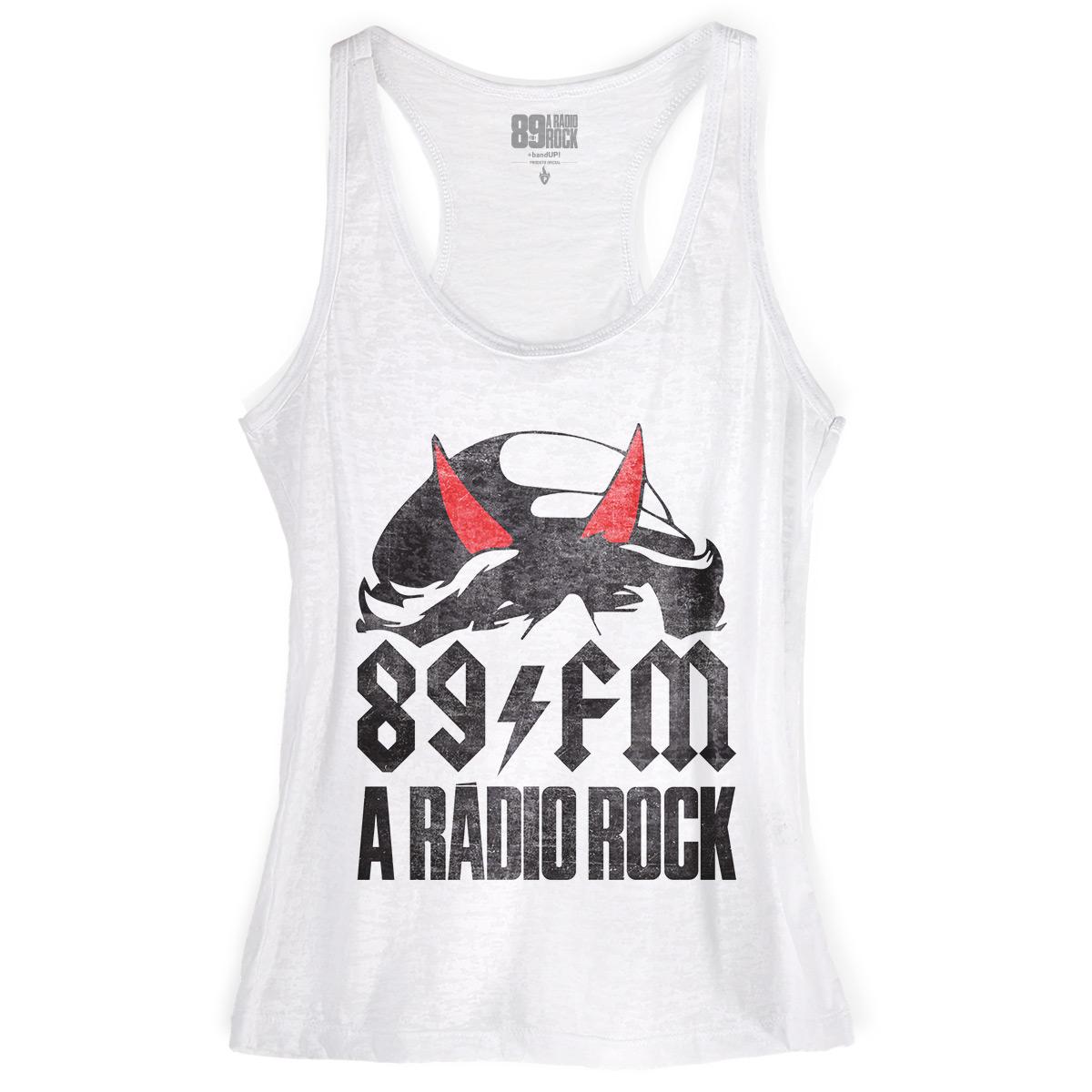 Regata Nadador Feminina 89FM Highway to Hell