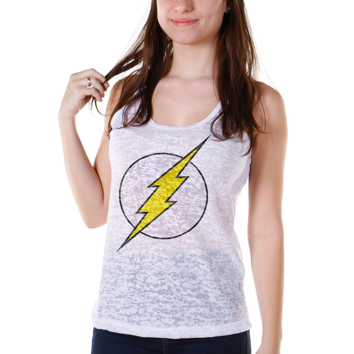 Regata Nadador Feminina The Flash Logo