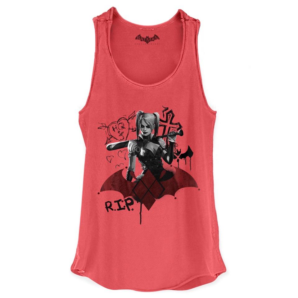 Regata Premium Feminina Harley Quinn RIP