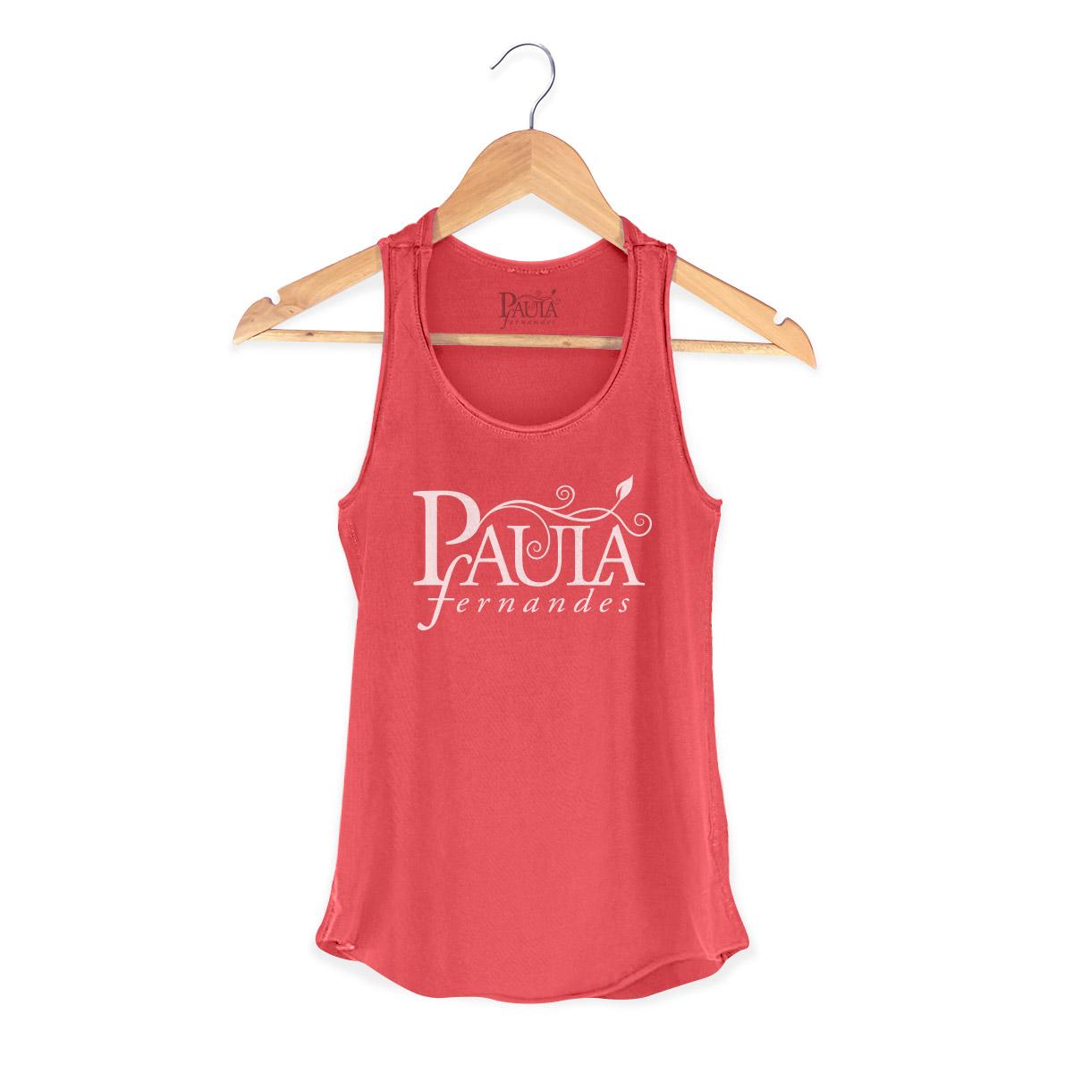Regata Premium Feminina Paula Fernandes Logo