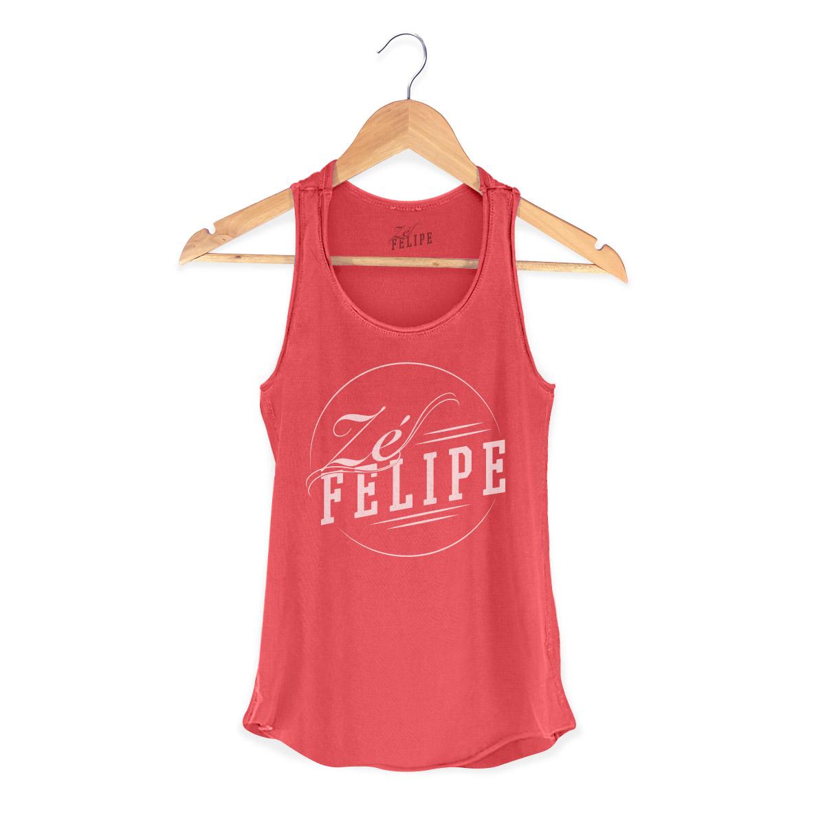 Regata Premium Feminina Z� Felipe Logo