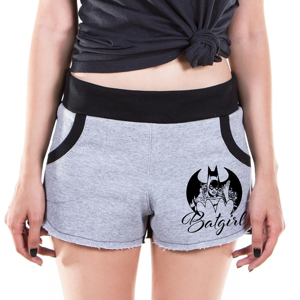 Shorts de Moletom Batgirl Be Legendary