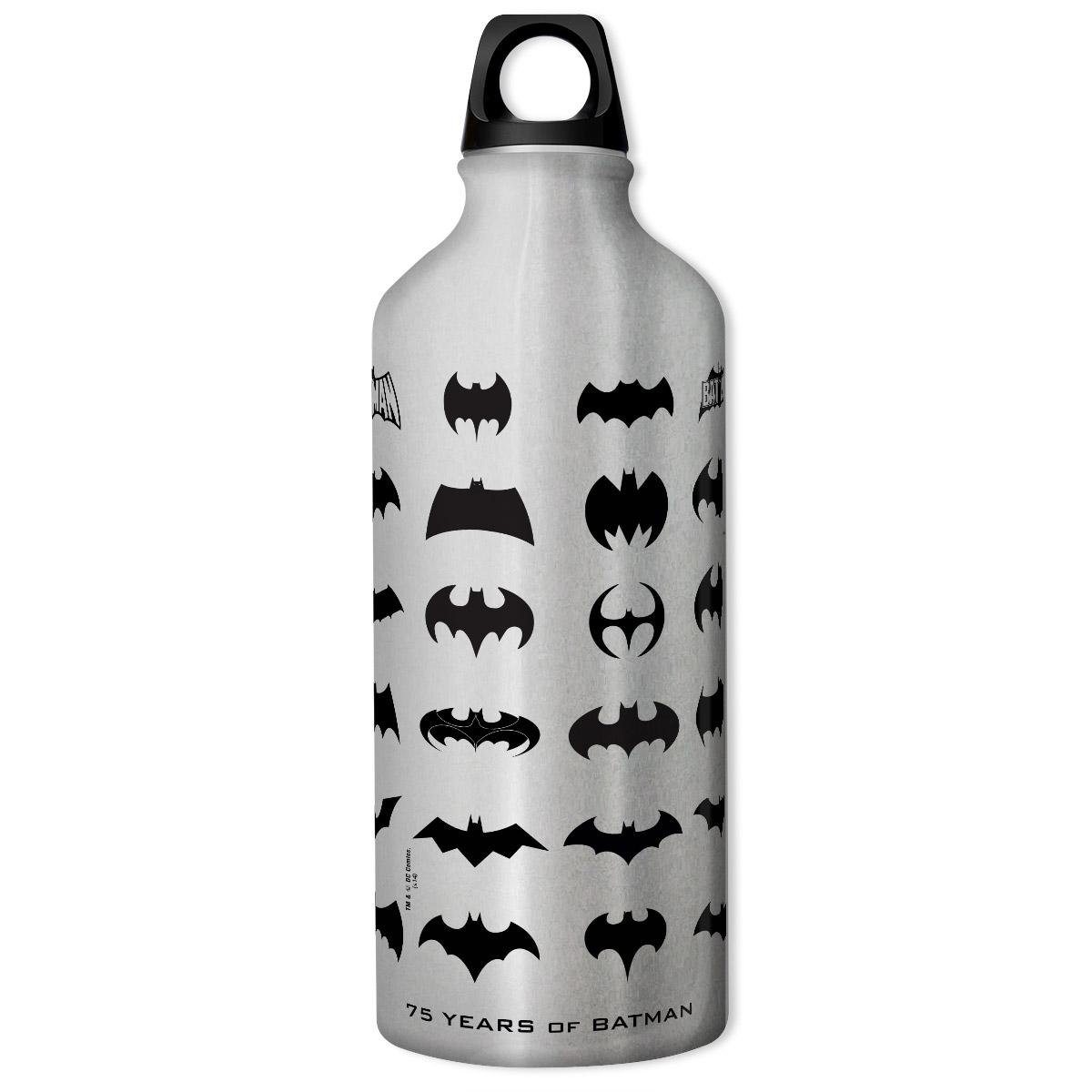 Squeeze Prata Batman 75 Anos Logos Collection