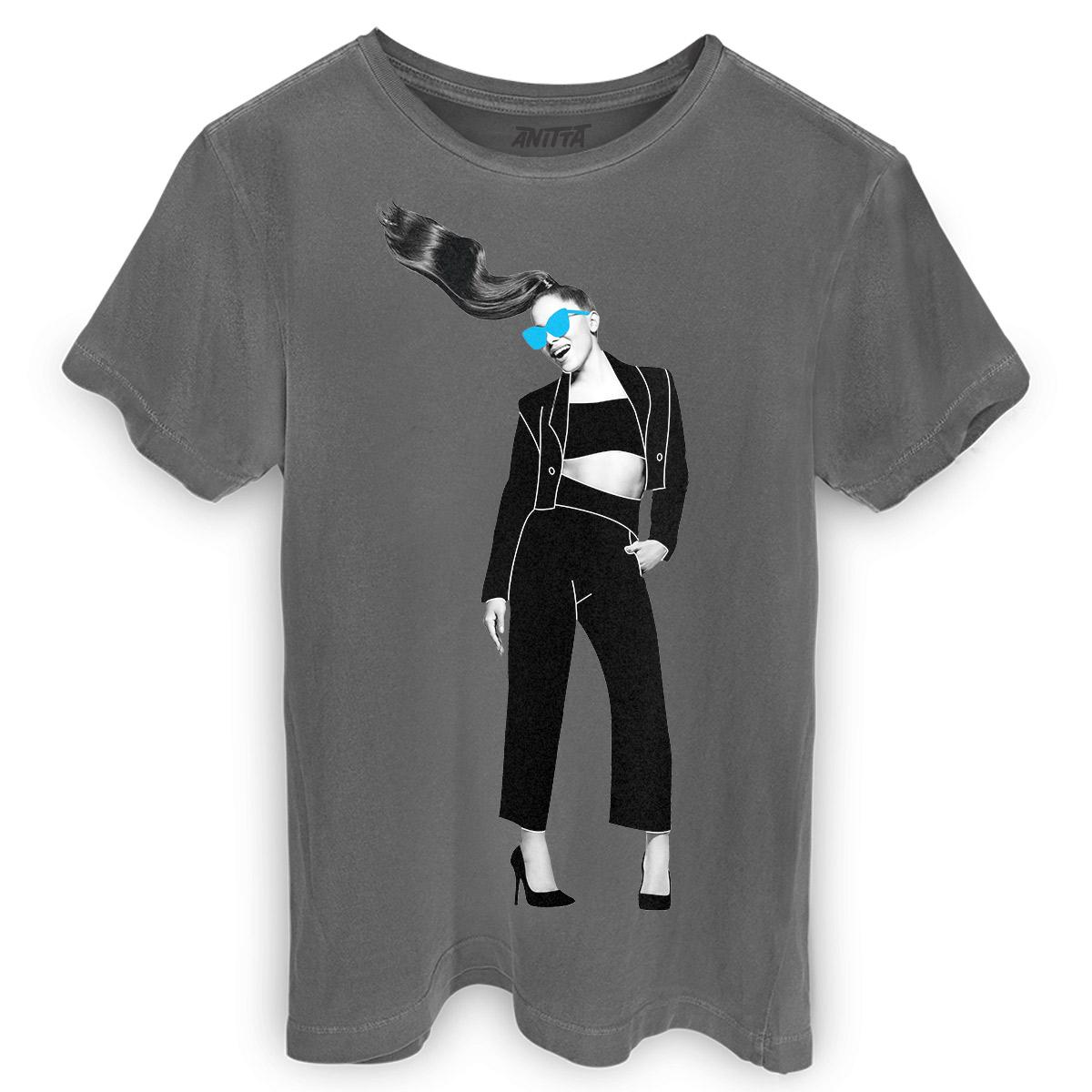 T-shirt Premium Anitta Quero Aproveitar