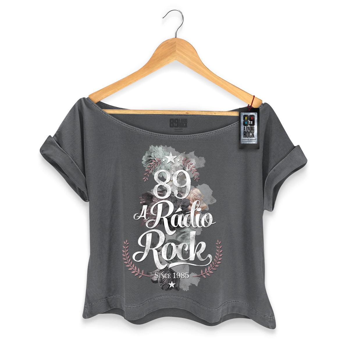 T-shirt Premium Feminina 89FM Since 1985