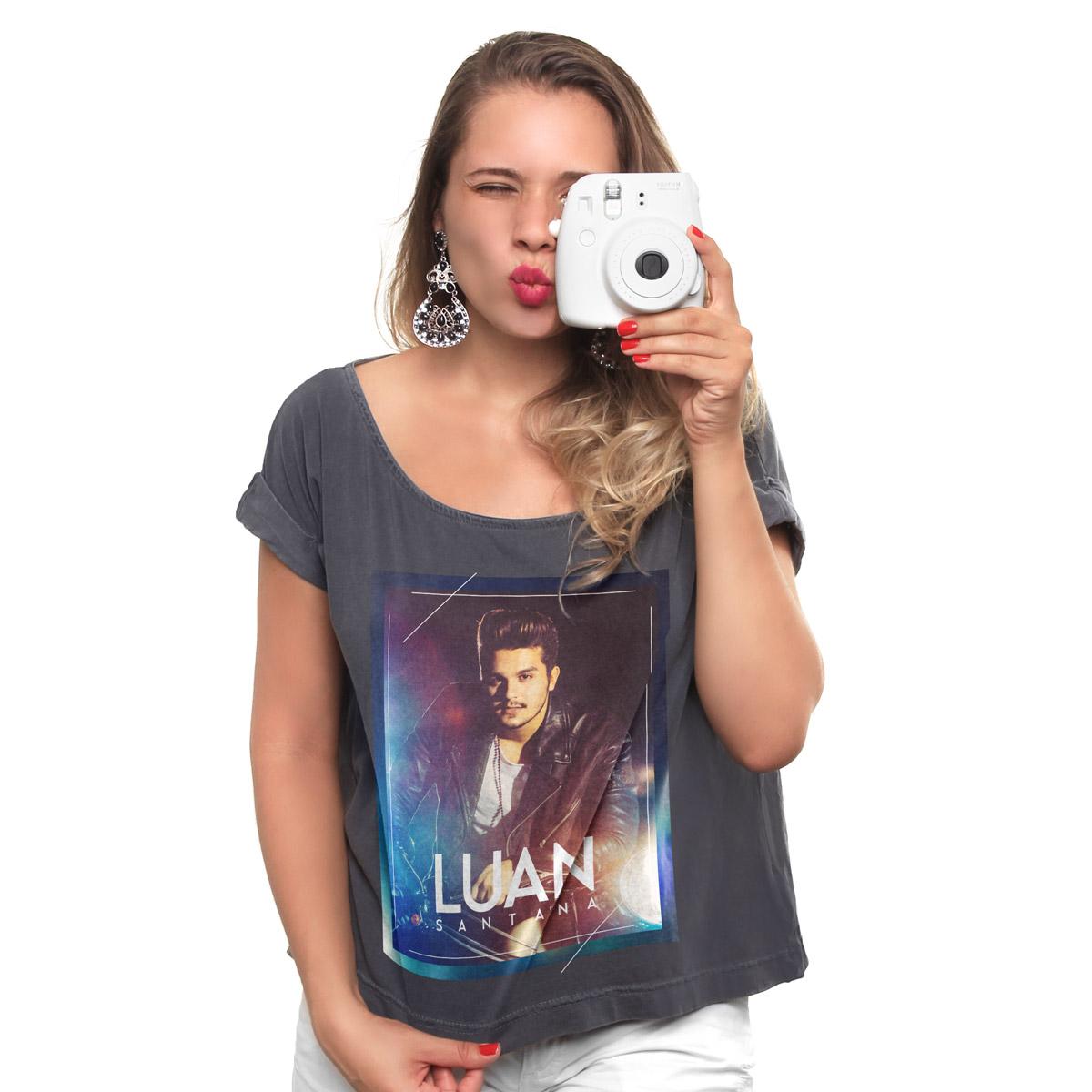 T-shirt Premium Feminina Luan Santana 60´s