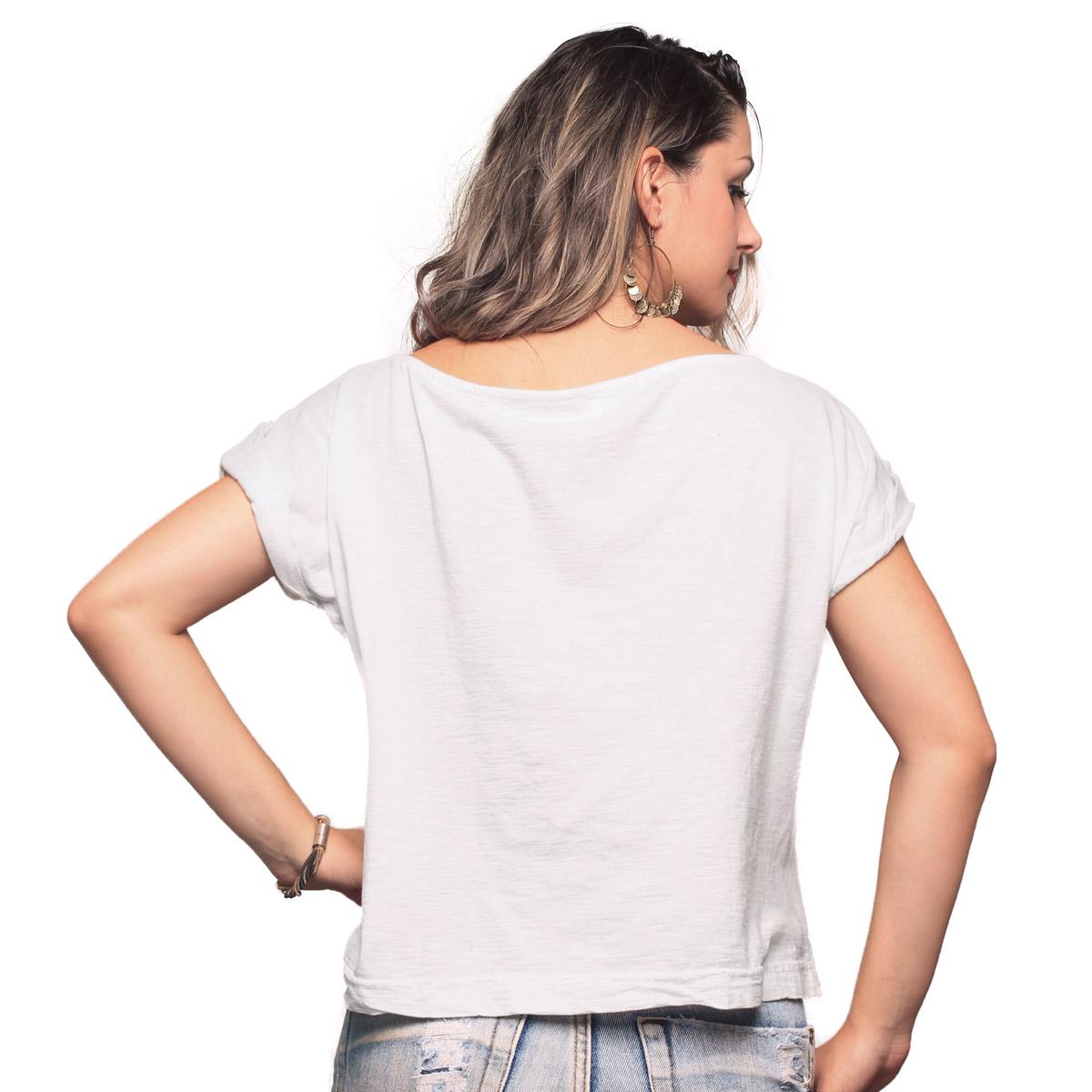 T-shirt Premium Feminina Luan Santana Tanto Faz Foto