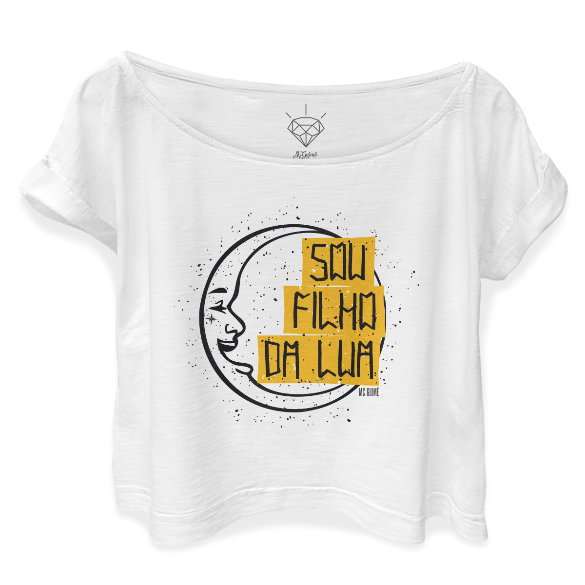 T-shirt Premium Feminina MC Guim� Nova Fase
