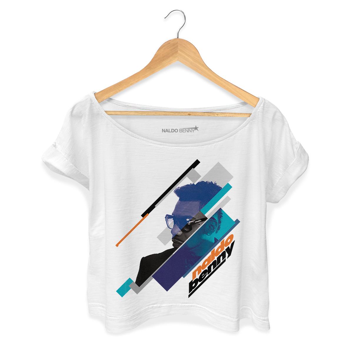 T-shirt Premium Feminina Naldo Benny Perfil