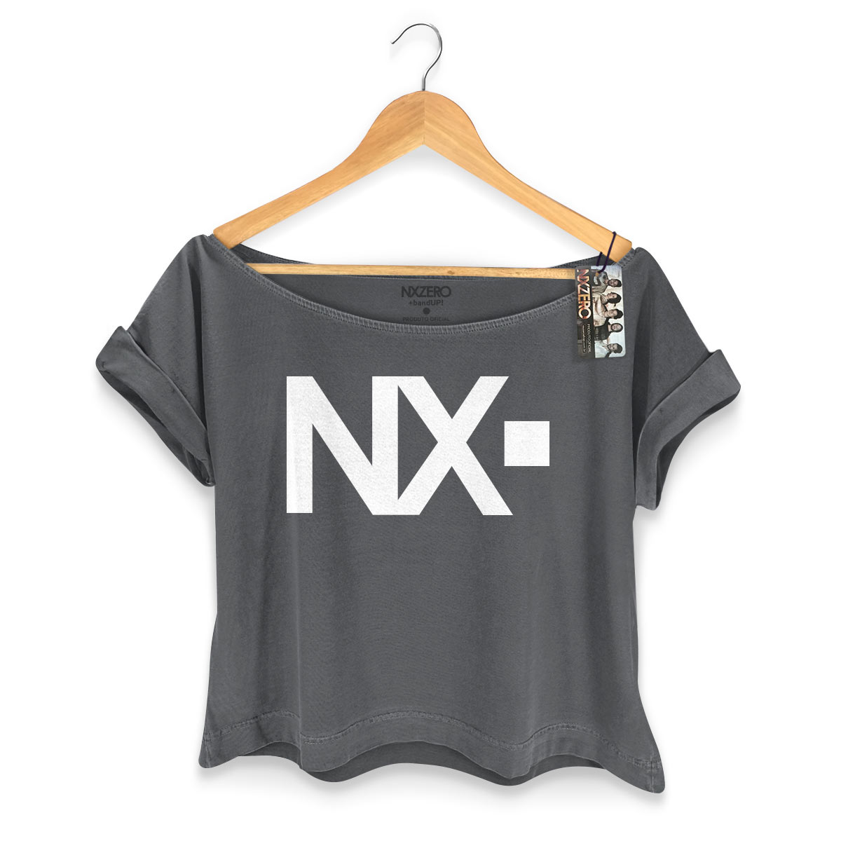 T-shirt Premium Feminina NXZero Logo