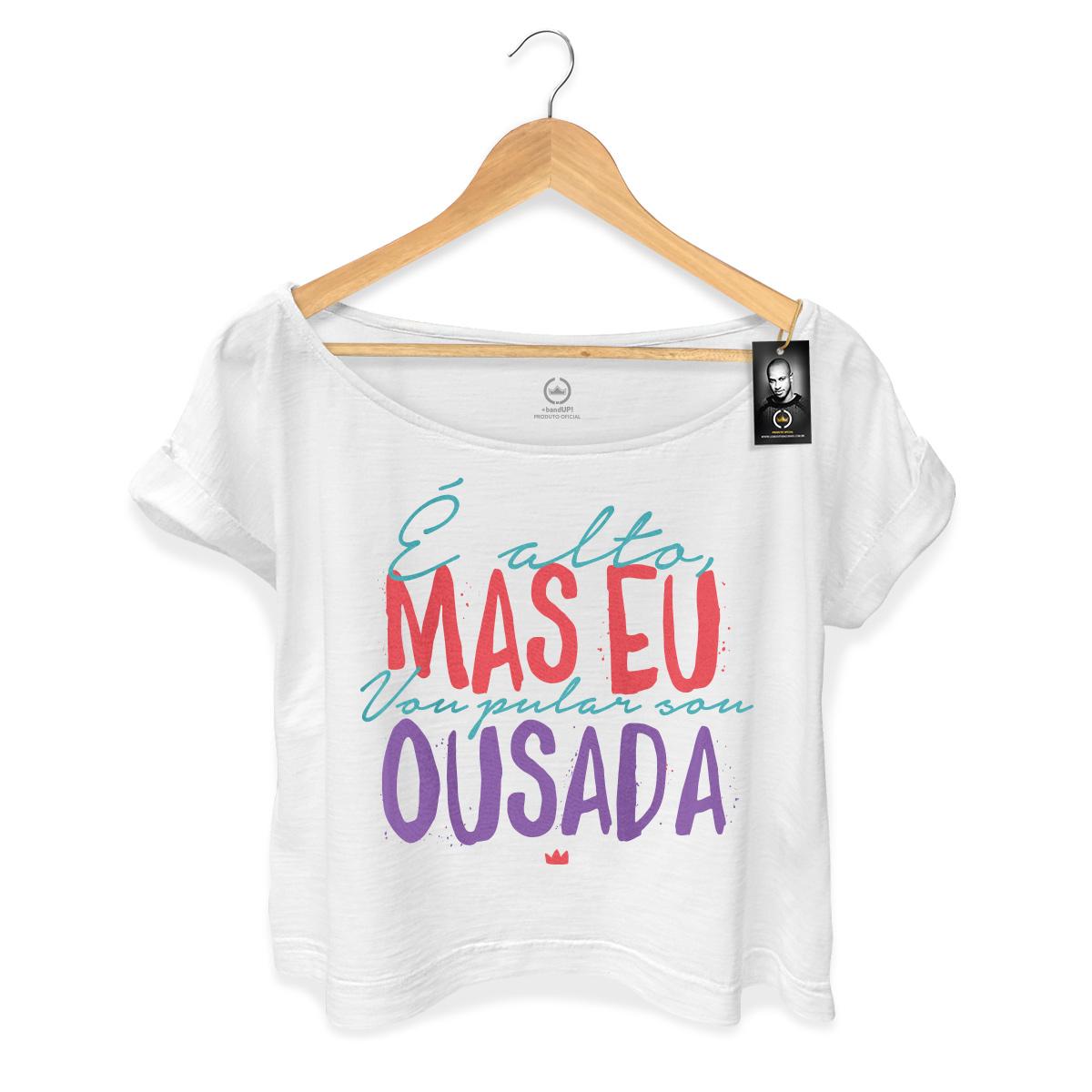 T-shirt Premium Feminina Thiaguinho Eu Vou Pular