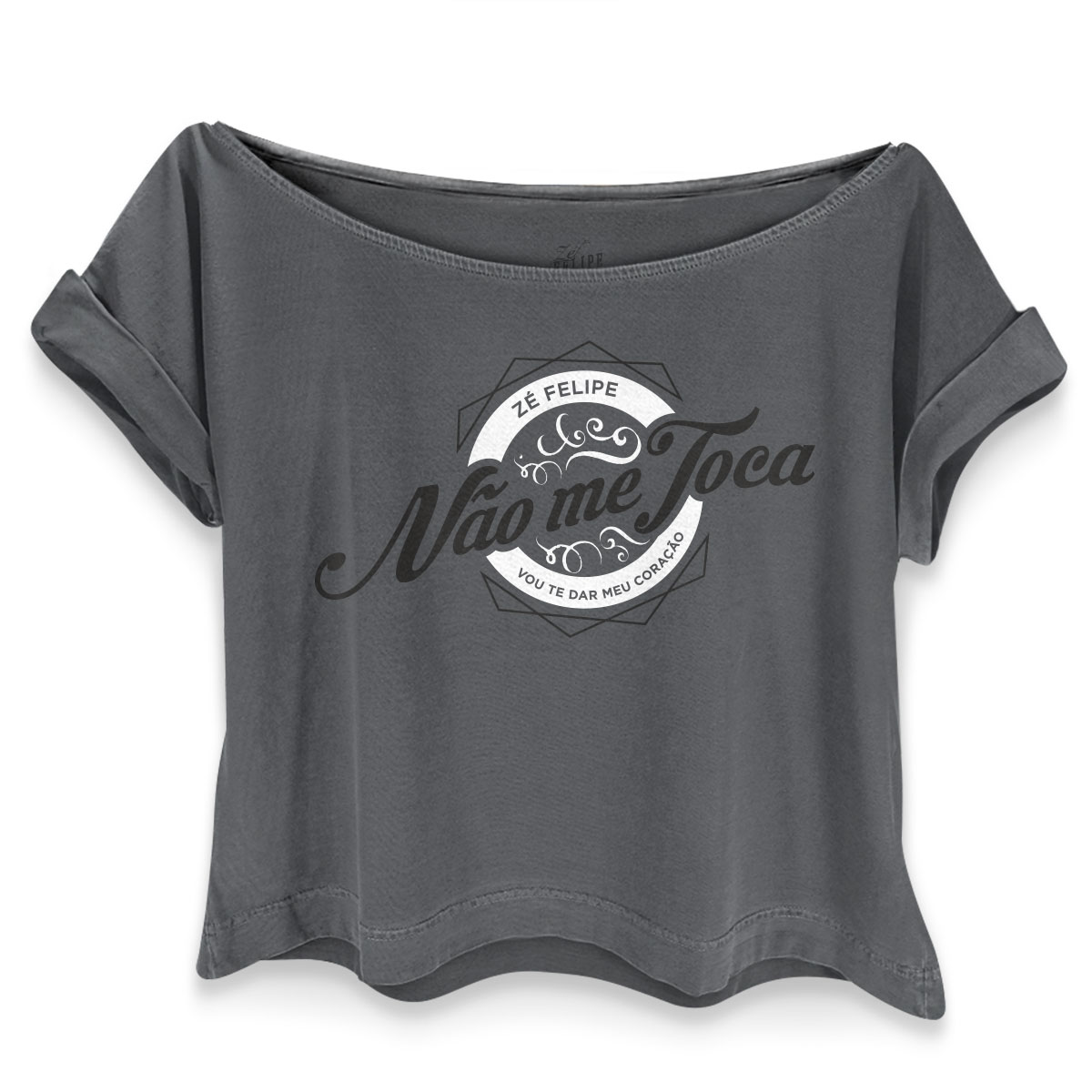 T-shirt Premium Feminina Z� Felipe N�o Me Toca